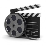film-reel-and-clapperboard